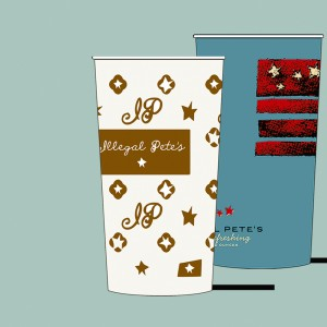 Paper Cup Design/Packaging/Illustration/Art/Graphic Design/Graphic Art/Identity/Branding